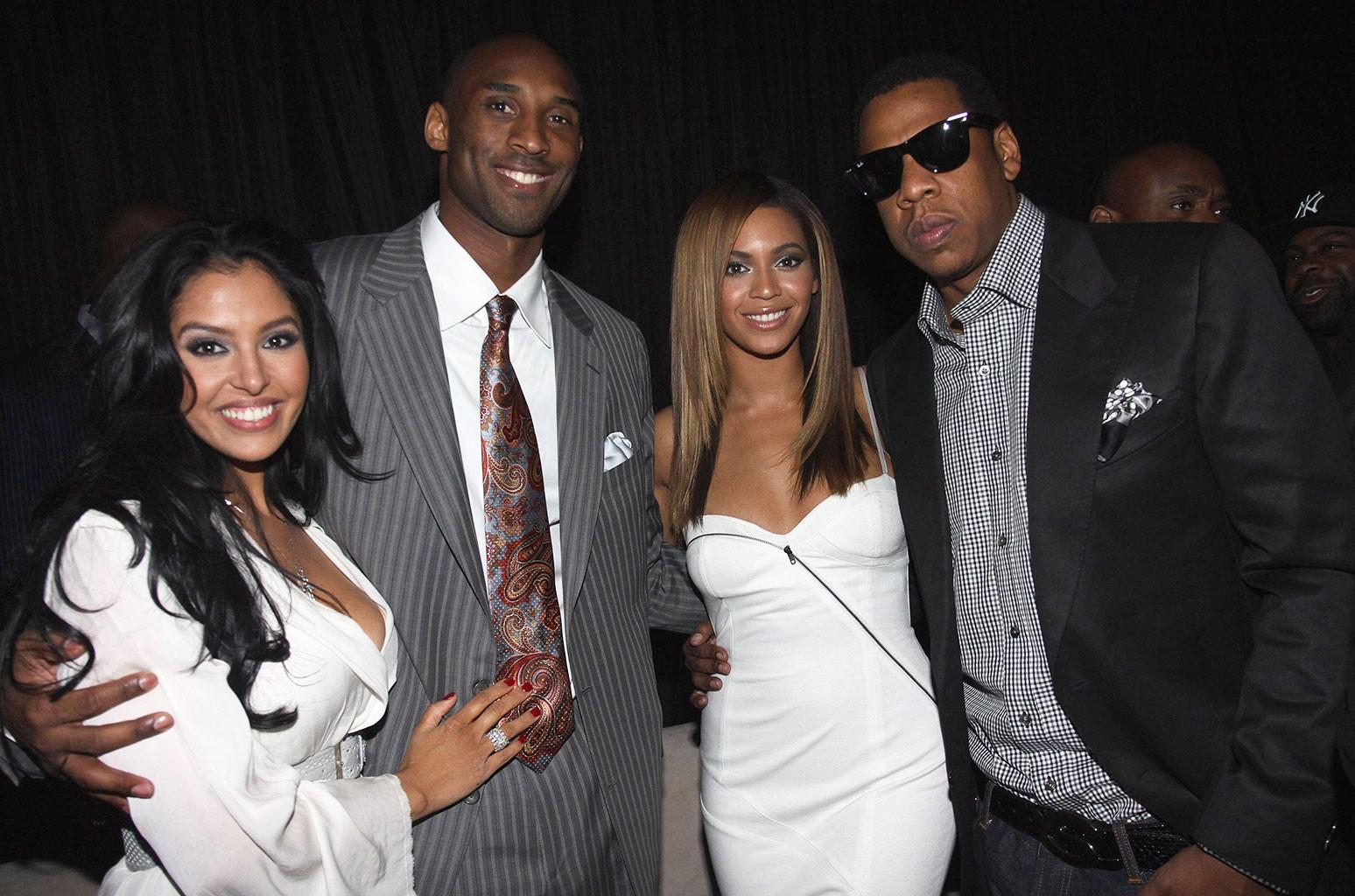 Vanessa Bryant, Kobe Bryant, Beyonce and Jay-Z