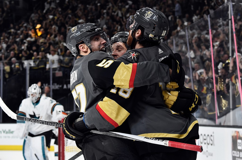 James Neal #18 of the Vegas Golden Knights