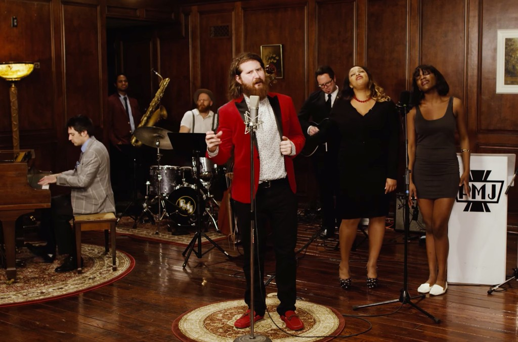 "Vintage 'Animal House' / Isley Brothers ft. Casey Abrams, ""What Is Love"""