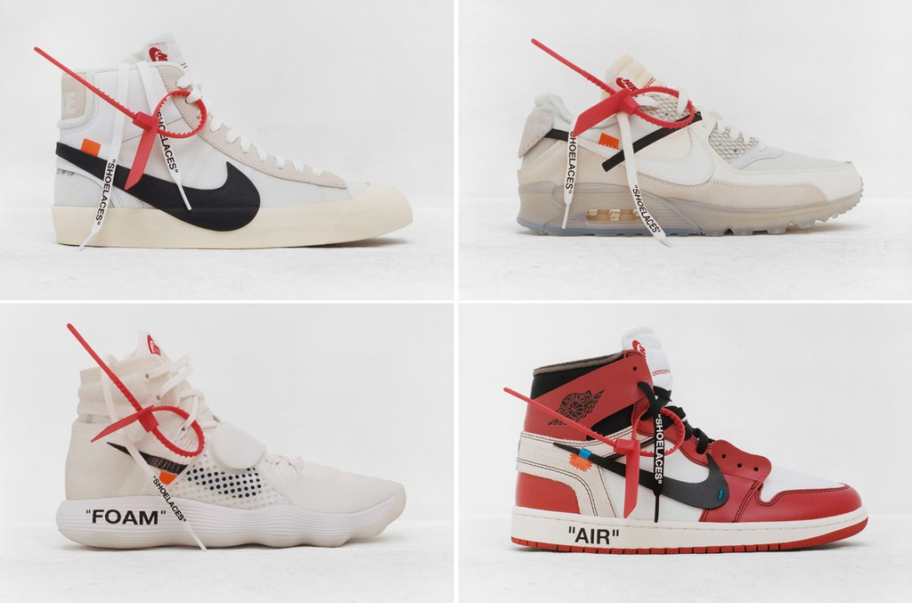 """Virgil Abloh x Nike """"The Ten"""" Collection"""