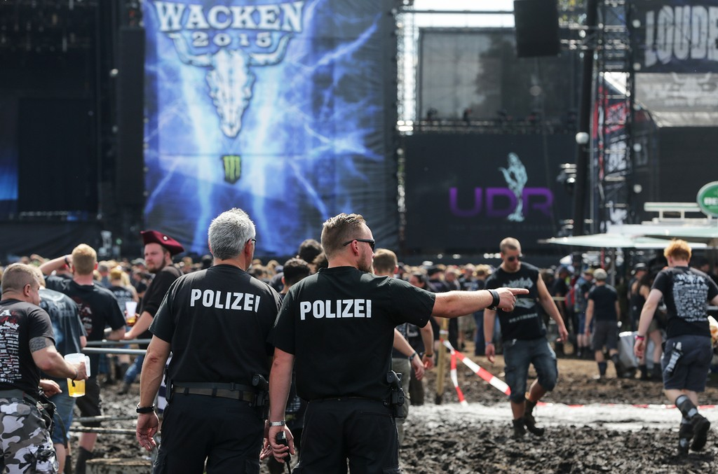 Wacken Open Air Festival in Germany