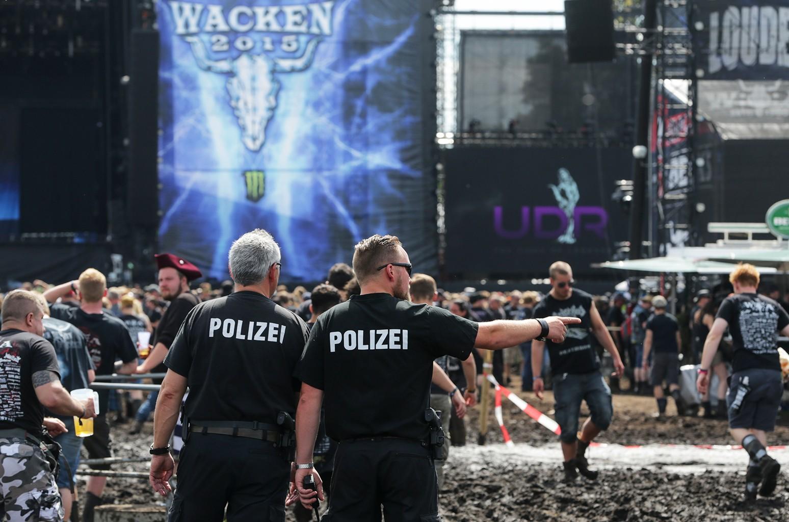 Wacken Open Air Festival in Germany