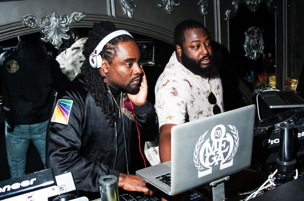 Wednesday night at NYC hotspot Up&Down, Meek Mill was spotted celebrating with friends, as well as Wale, who treated the packed crowd to a late night DJ set.