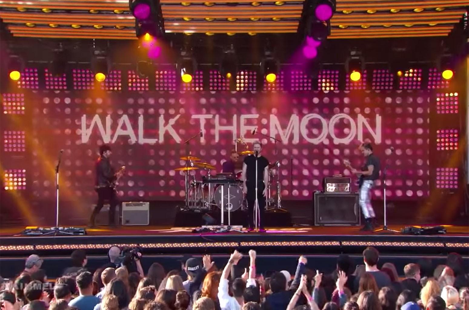 Walk the Moon on Jimmy Kimmel Live!