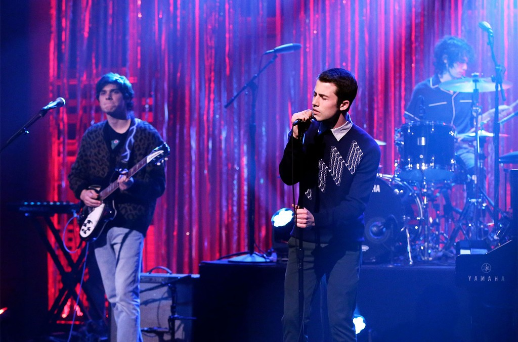 Wallows performs on The Tonight Show Starring Jimmy Fallon on Feb. 18, 2019.