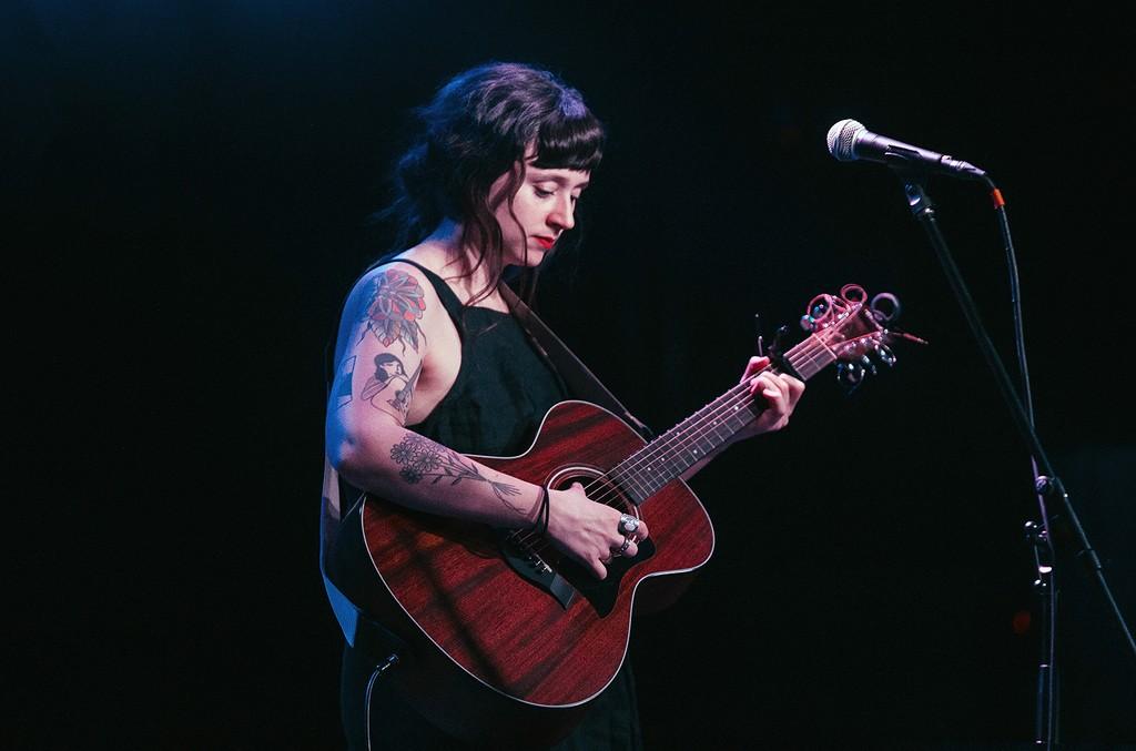Katie Crutchfield of Waxahatchee