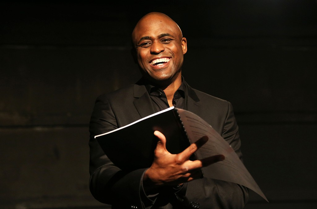 Wayne Brady performs at The Westside Theatre on April 4, 2016 in New York City.