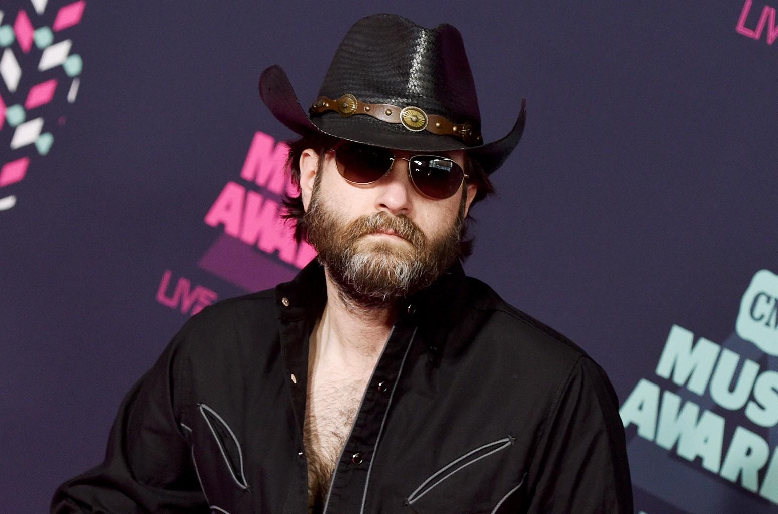 Wheeler Walker Jr. attends the 2016 CMT Music awards at the Bridgestone Arena on June 8, 2016 in Nashville, Tenn.