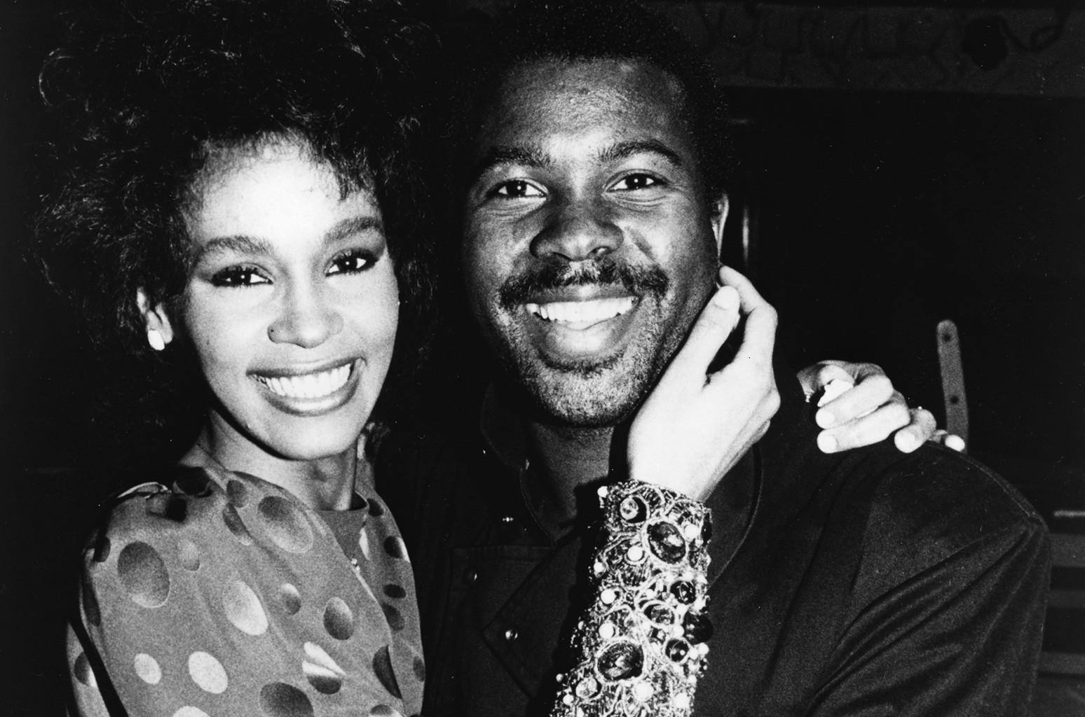 Whitney Houston and producer Kashif