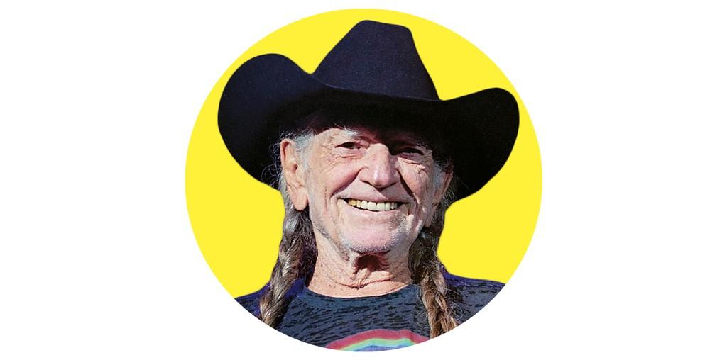 6. Willie Nelson