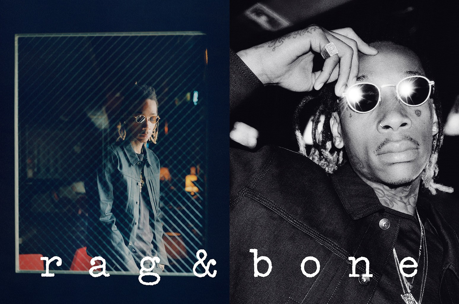 Wiz Khalifa in rag & bone campaign