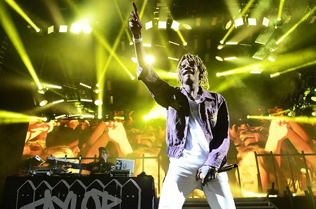 Wiz Khalifa performing Boys of Zummer Tour 2015