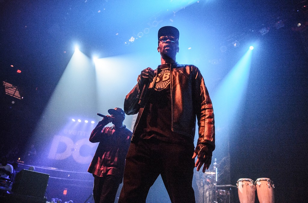 Wu Tang Clan perform at the We DC showcase during the SXSW Music Festival at the Moody Theater on March 14, 2017 in Austin, Texas.