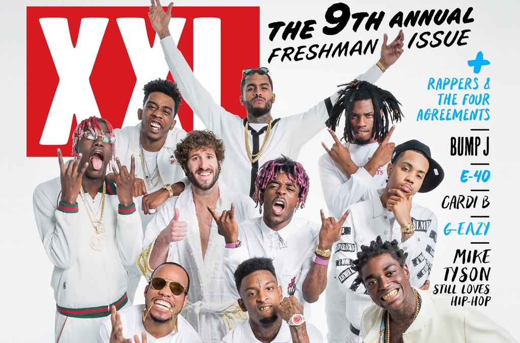 XXL's 2016 Freshman issue.