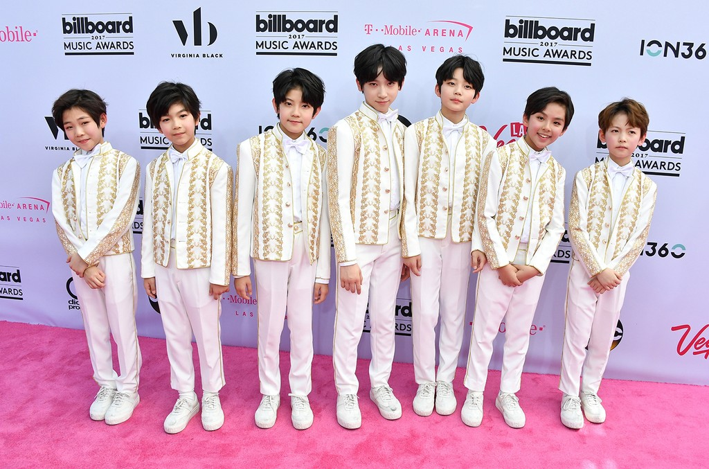 YH Boys attends the 2017 Billboard Music Awards at T-Mobile Arena on May 21, 2017 in Las Vegas.