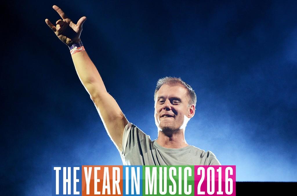 Armin Van Buuren performs in 2016