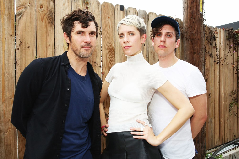 Rob Kieswetter, Claire L. Evans and Jonah Bechtolt of Yacht