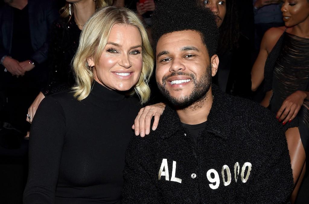 Yolanda Hadid and The Weeknd