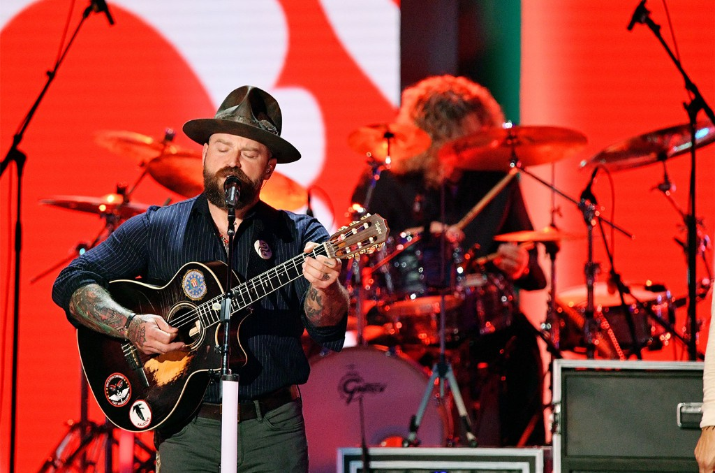 Zac Brown of the Zac Brown Band