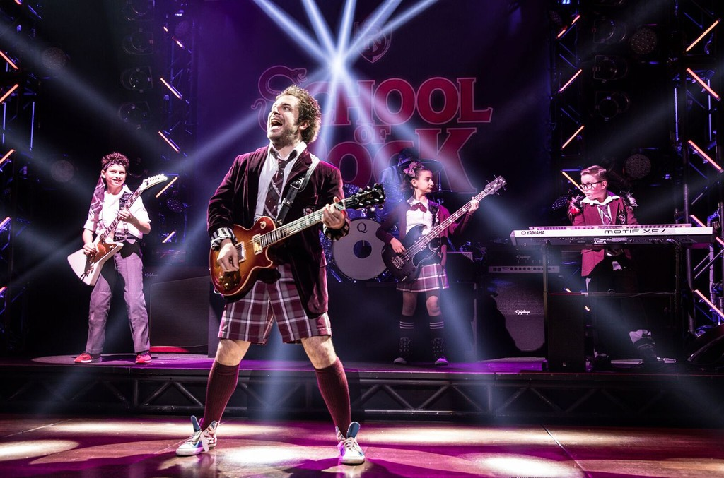 School of Rock - The Musical.