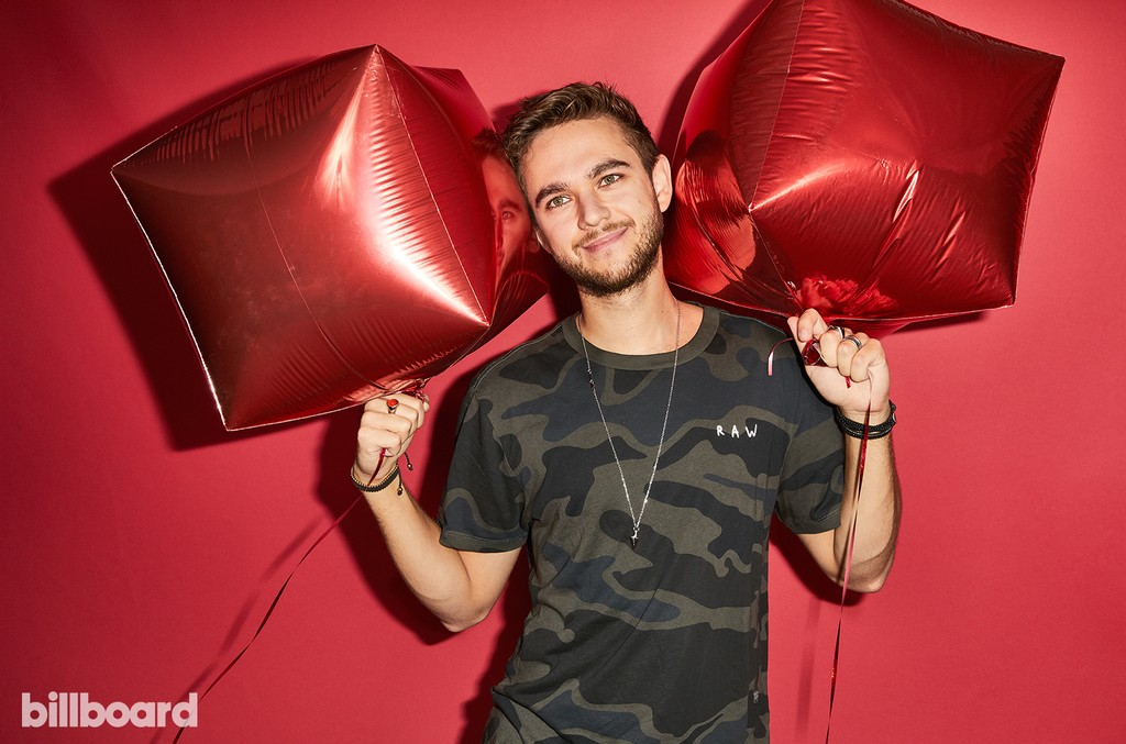 Zedd at the Hot 100 Music Festival, 2017
