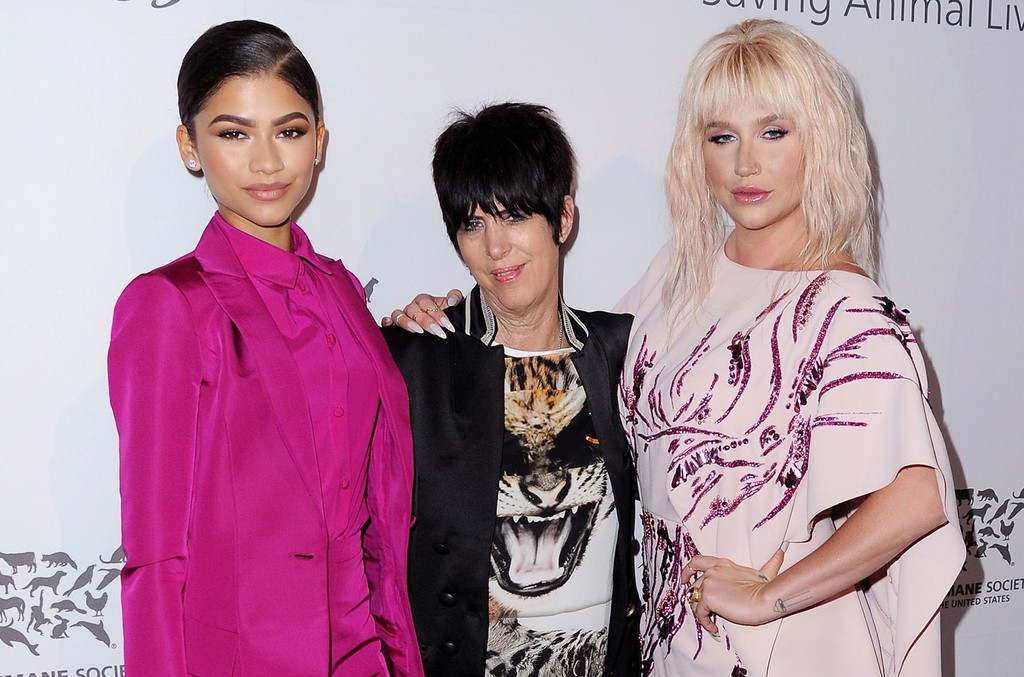 Zendaya-Diane-Warren-and-Kesha-humane-society-gala-2016-billboard-650-1548
