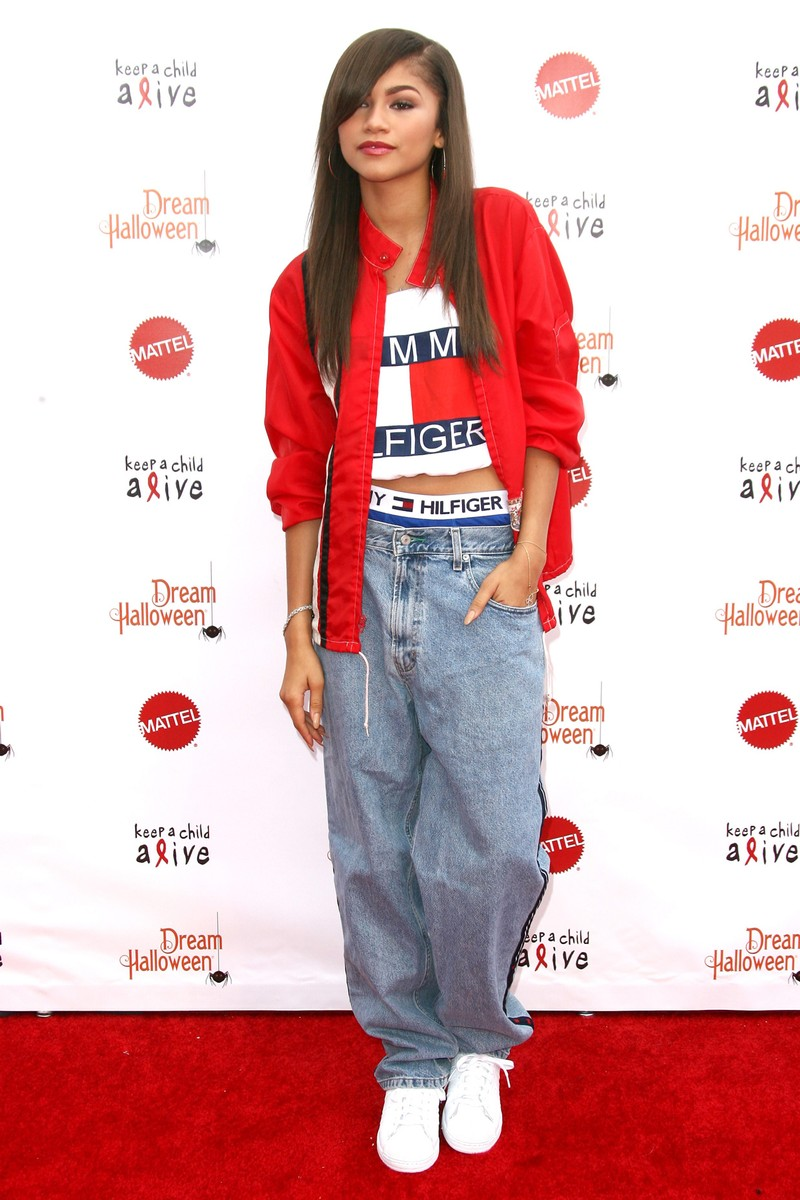aaliyah tommy outfit