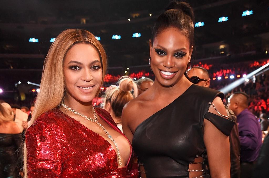 Beyoncé and Laverne Cox