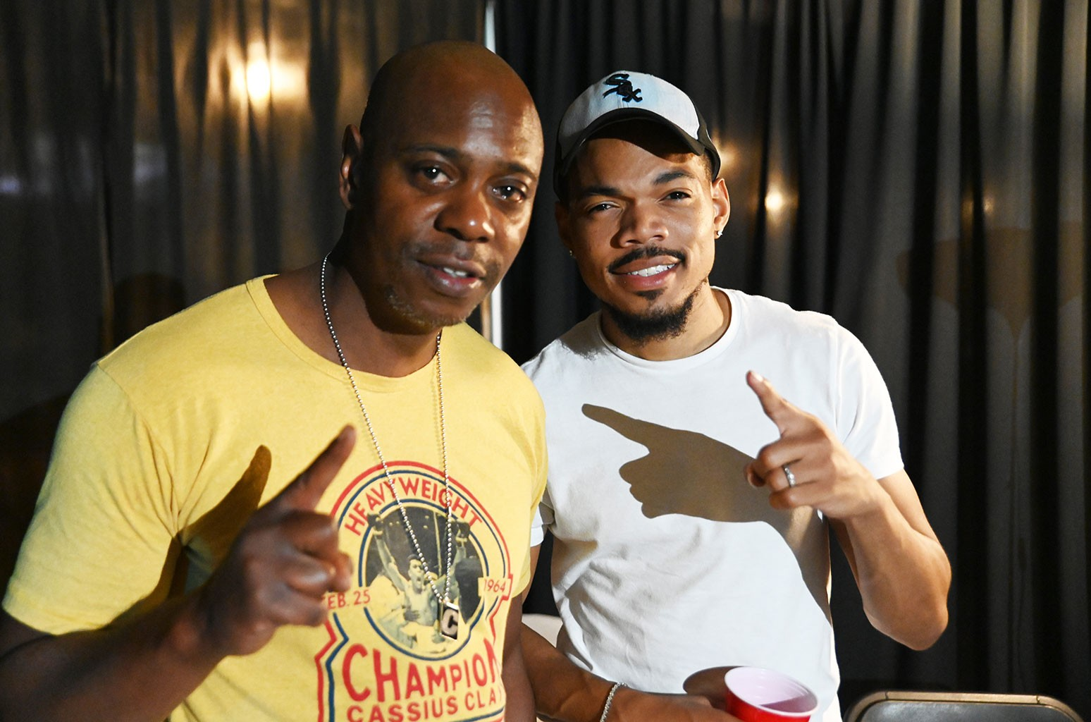 Dave Chappelle and Chance The Rapper