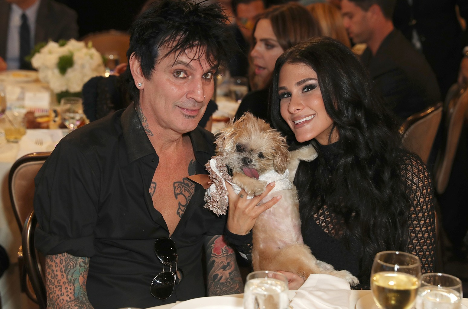 Tommy Lee and BrittanyFurlan