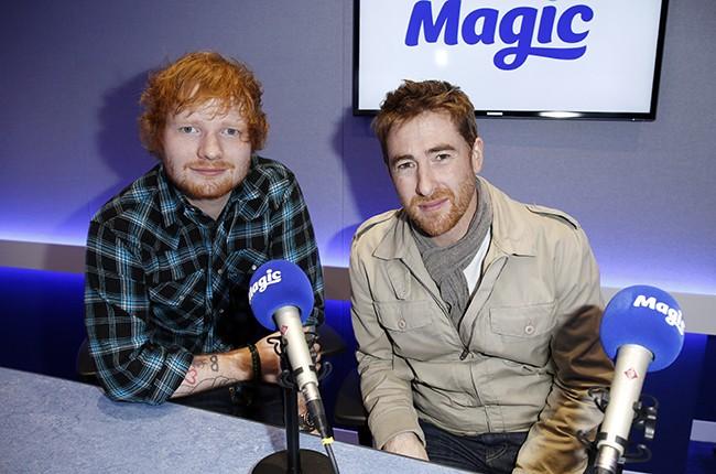 Ed Sheeran and Jamie Lawson on Magic in the Morning for Magic Radio