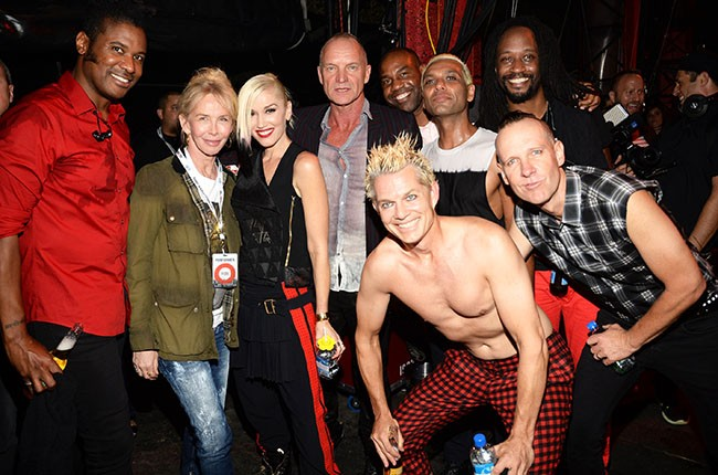Trudie Styler, Sting and No Doubt, 2014.