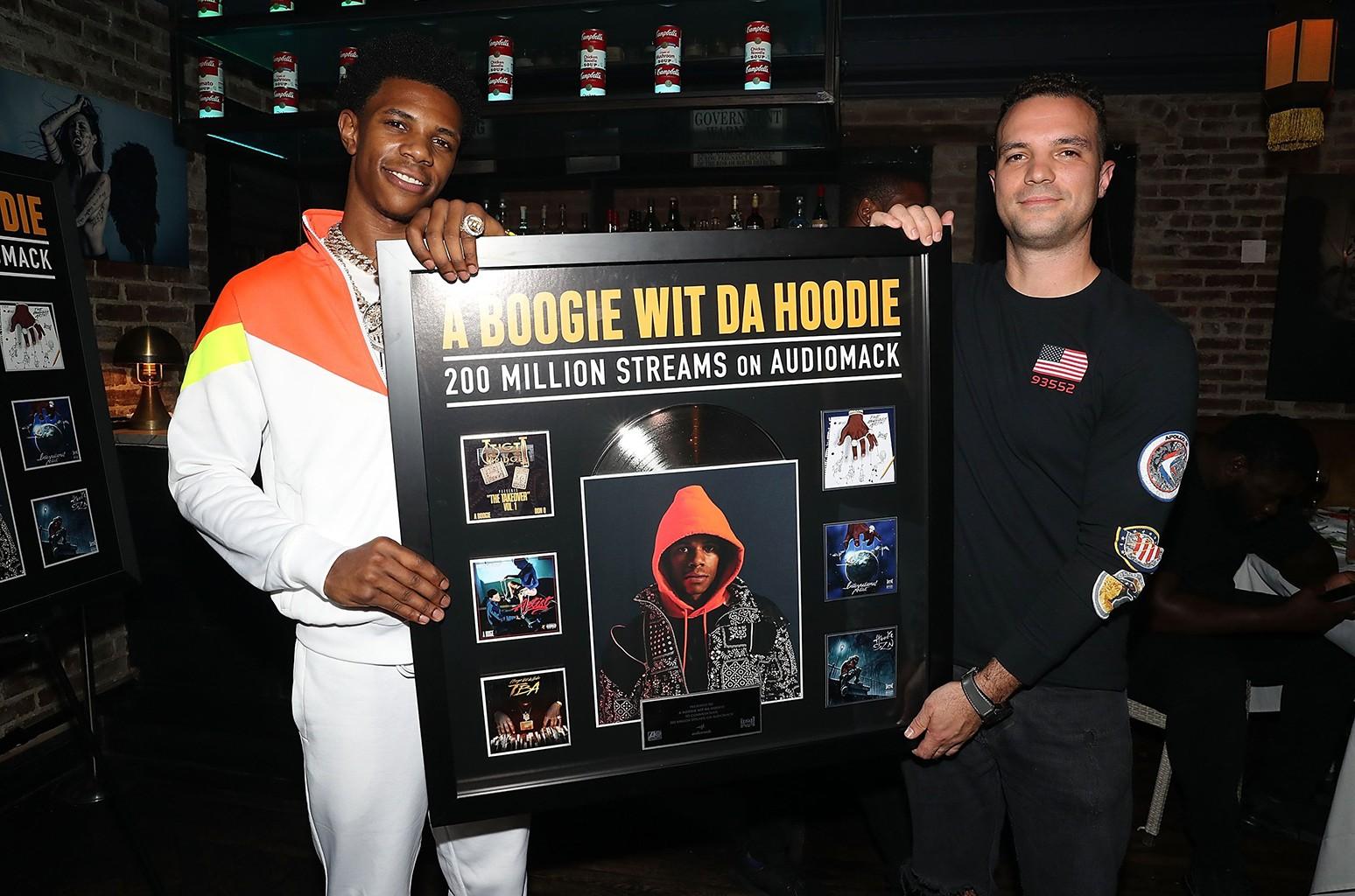 A Boogie Wit Da Hoodie and David Ponte
