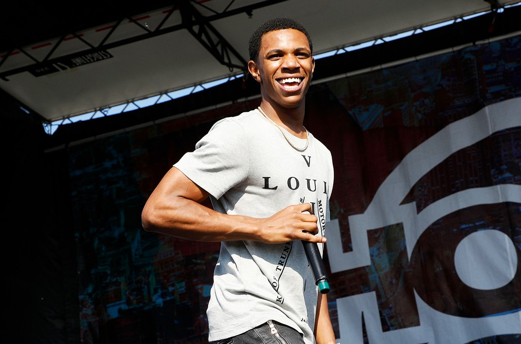 A Boogie Wit Da Hoodie performs during the 2017 Hot 97 Summer Jam at MetLife Stadium on June 11, 2017 in East Rutherford, N.J.