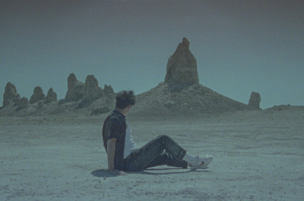 "A.CHAL in the video for ""To the Light."""