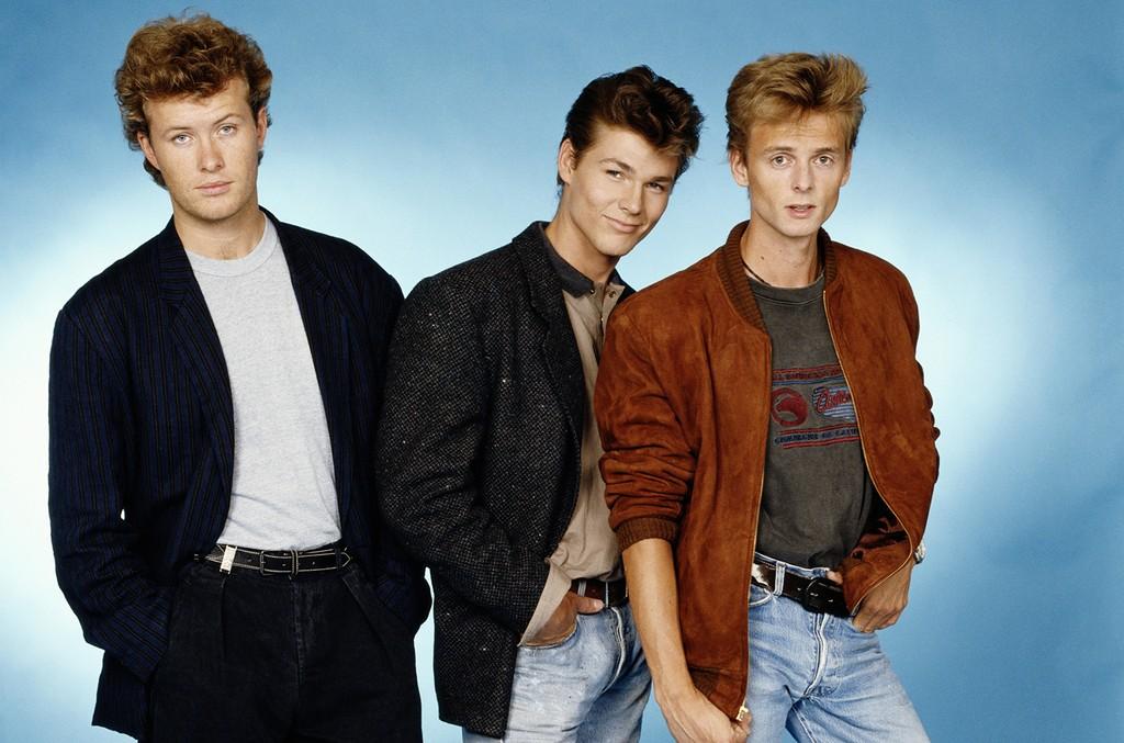 A-ha photographed circa 1985