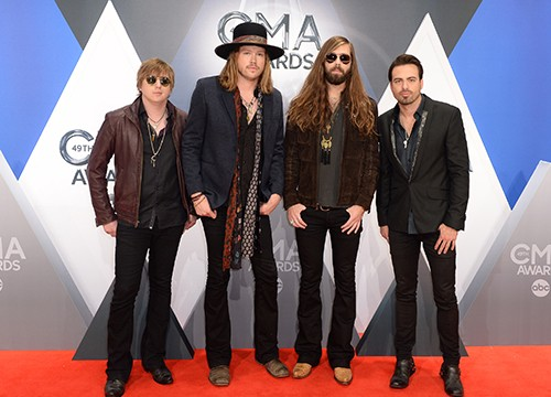 A Thousand Horses attend the 49th annual CMA Awards
