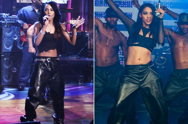 Aaliyah; Alexandra Shipp as Aaliyah
