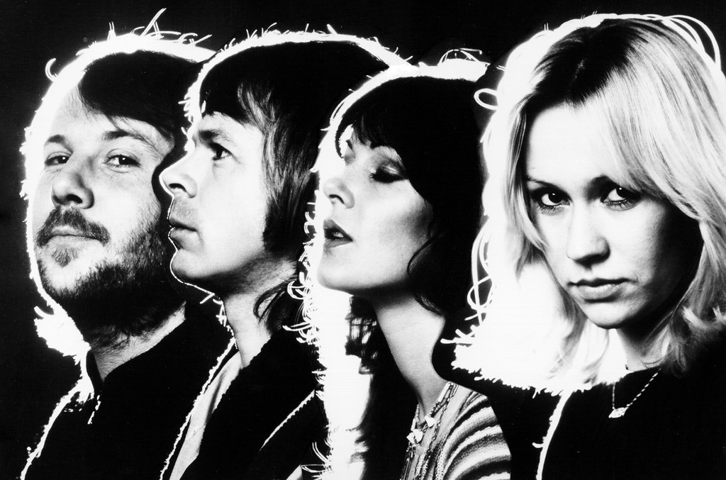 ABBA photographed in 1970.