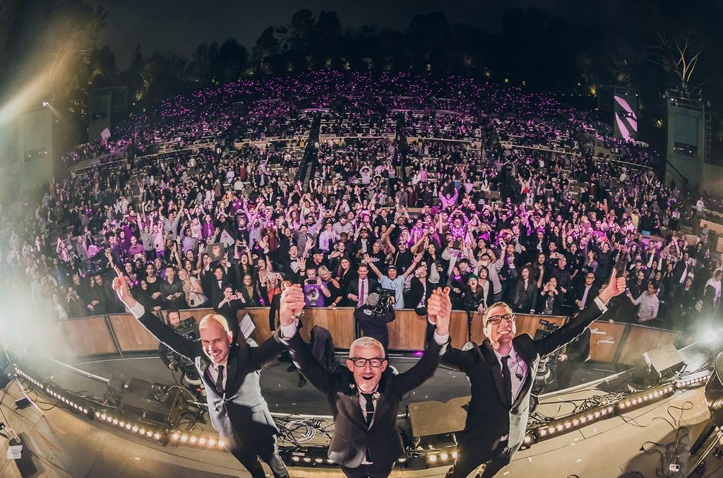Above & Beyond perform at Hollywood Bowl