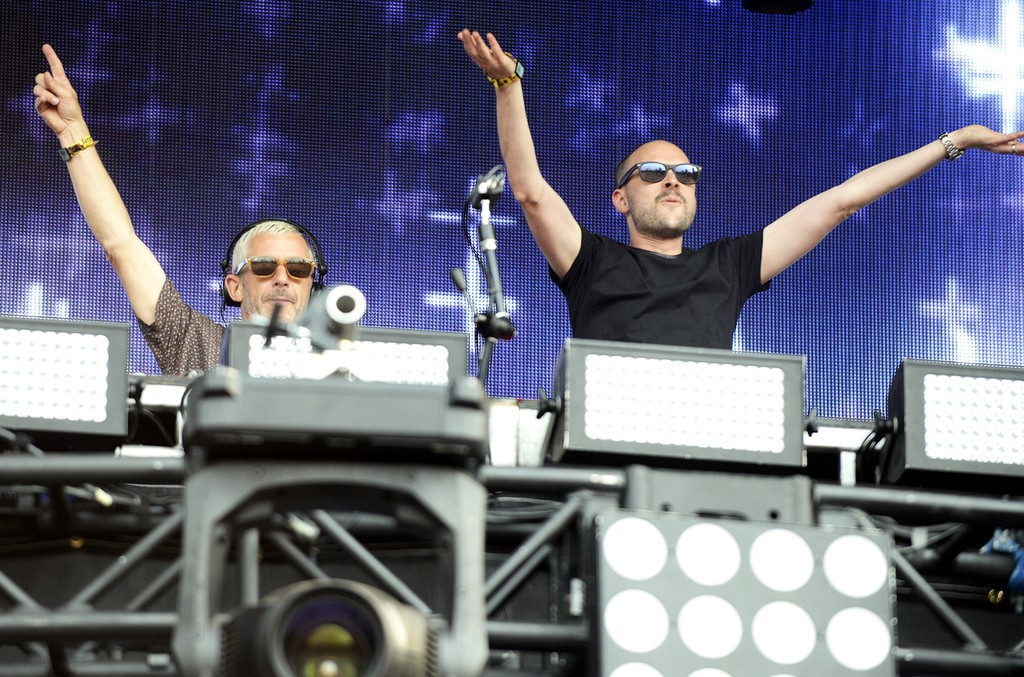 Above & Beyond perform in 2014