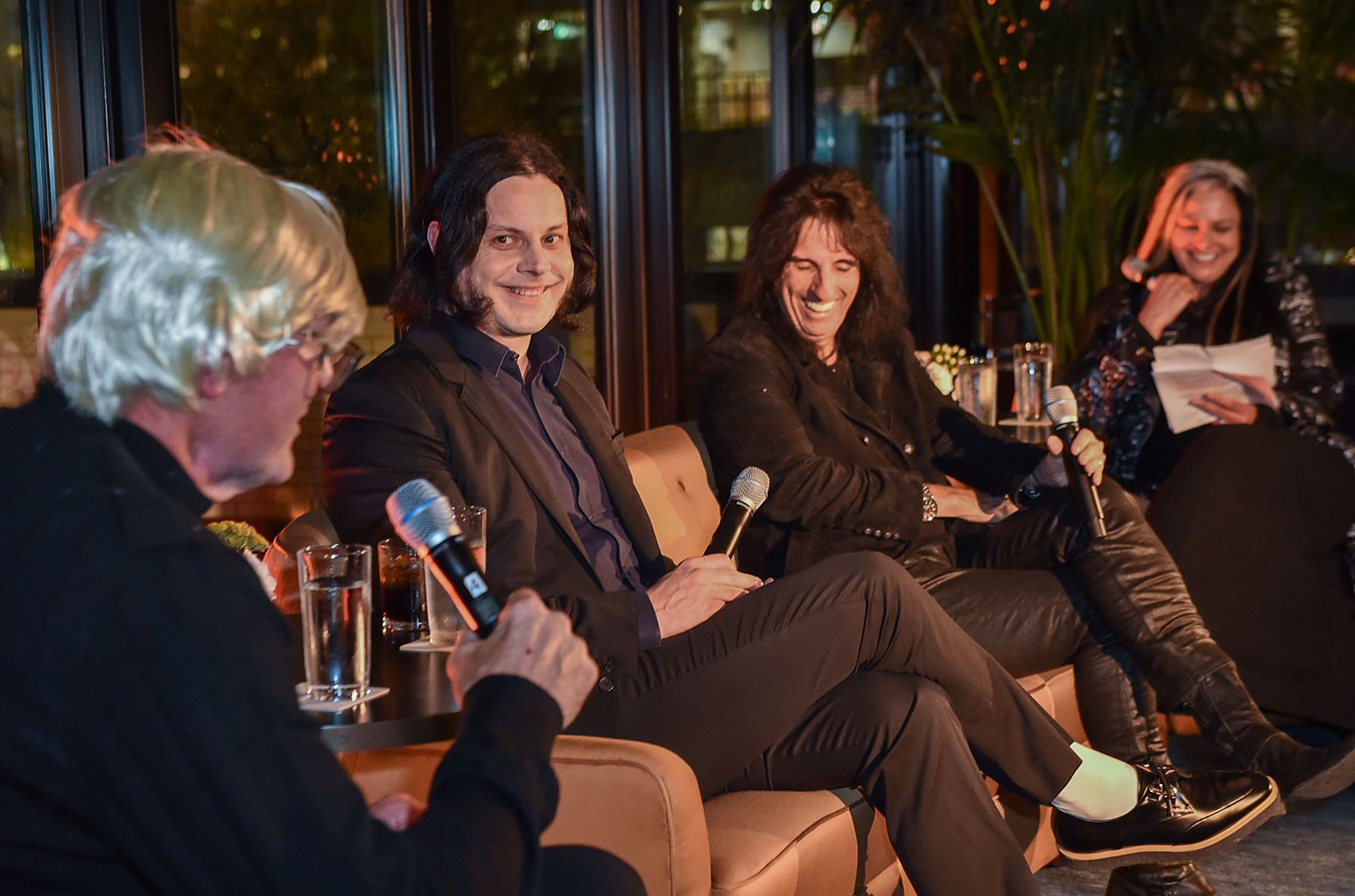 Kirk Gibson, Jack White and Alice Cooper