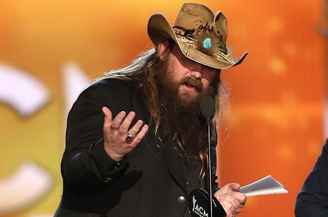 Chris Stapleton Academy of Country Music Awards 2016