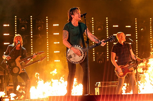 Keith Urban Academy of Country Music Awards 2016