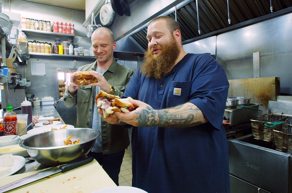 """Sean Evans and Action Bronson on First We Feast's """"Sean in the Wild."""""""