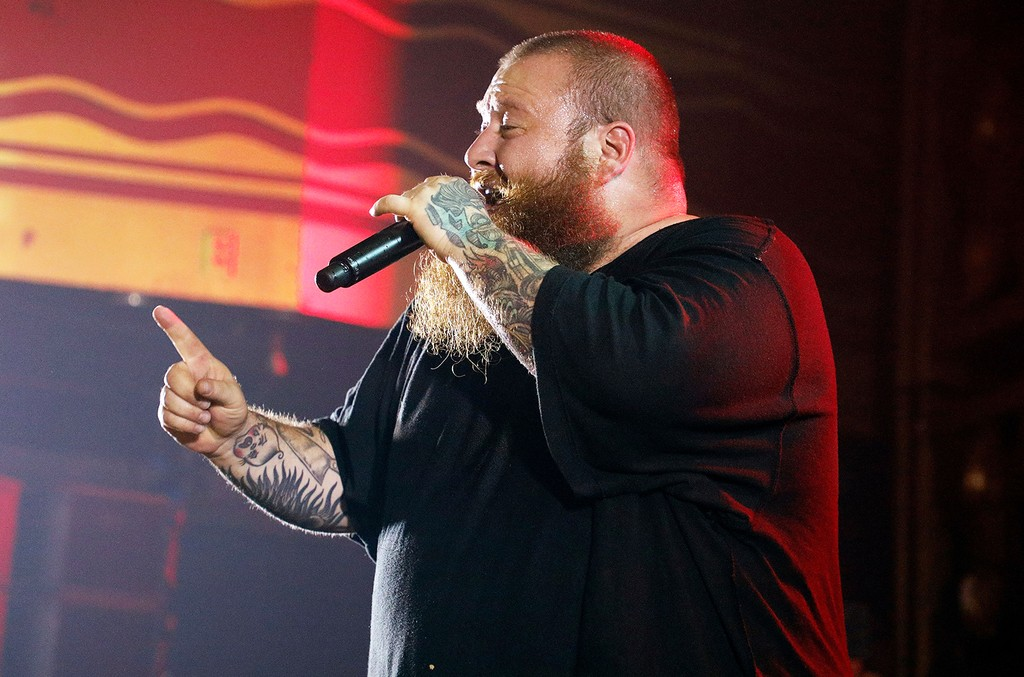 Action Bronson at webster hall, 2017