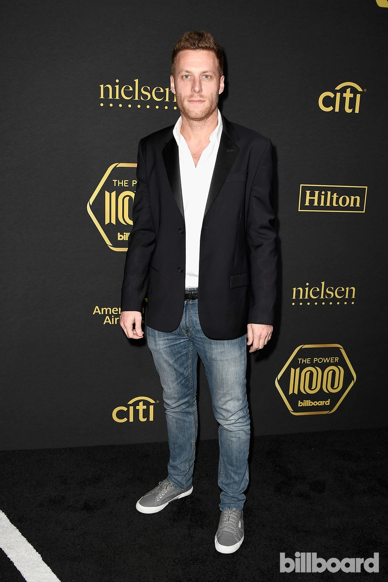 Adam Alpert attends Billboard Power 100 - Red Carpet at Cecconi's on Feb. 9, 2017 in West Hollywood, Calif.