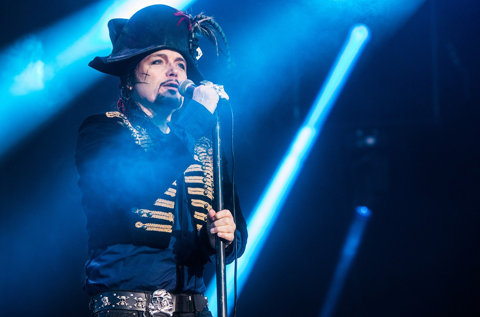 Adam Ant performs at Scone Palace on July 24, 2016 in Perth, Scotland.