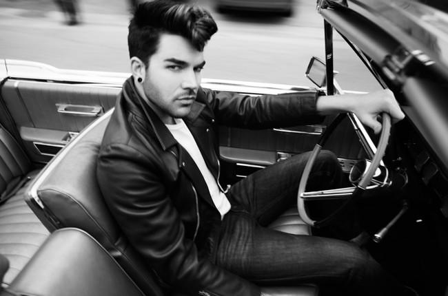 Adam Lambert photographed in 2015.