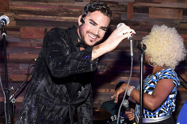 Adam Lambert, 2014.